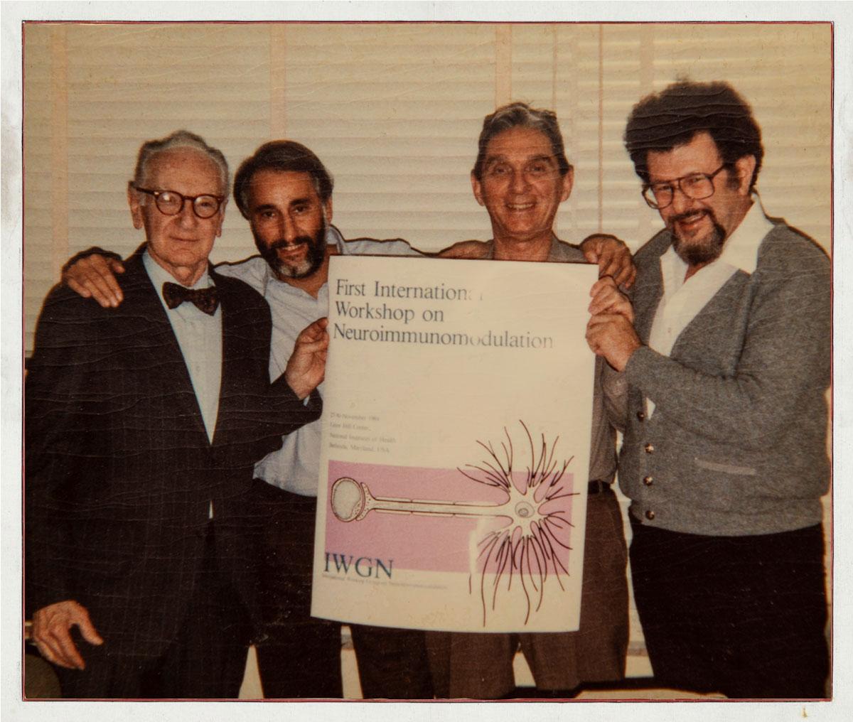 Walter Pierpaoli, Sir Denis Mahon, Branislav Jankovic, Novera Spector